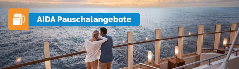 AIDA Pauschalangebote mit Bordguthaben