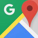Google Maps - Navigation, Bus, Bahn & Verkehr Logo