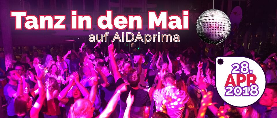 AIDA Perlen am Mittelmeer 1 am 28.04.2018