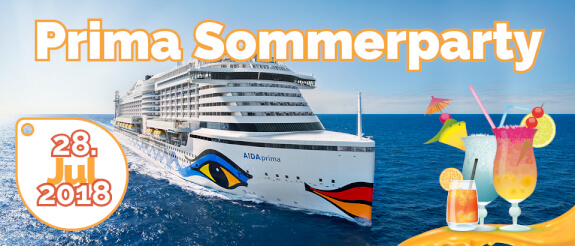 AIDA Prima Sommerparty 28.07.2018