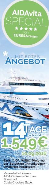 Große Ostseereise ab Kiel Special am 10.09.2016