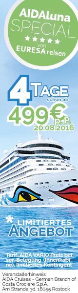 Kurzreise ab Kiel 2 Special am 20.08.2016