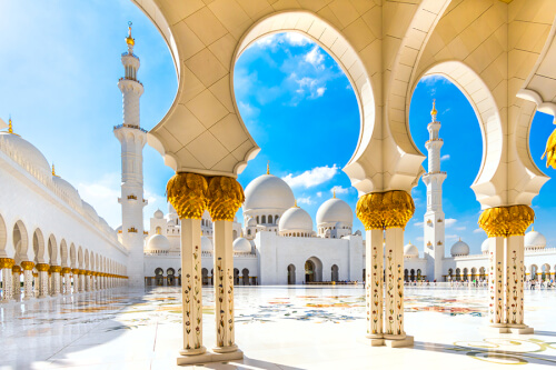 Abu Dhabi Bild; Copyright bei Fotolia