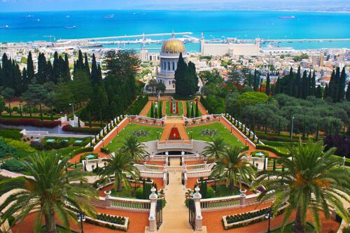 Haifa Bild; Copyright bei Fotolia