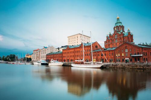 Helsinki Bild; Copyright bei Fotolia