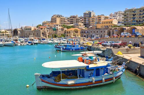 Heraklion / Kreta Bild; Copyright bei Fotolia