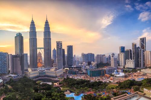 Kuala Lumpur / Port Klang Bild; Copyright bei Fotolia