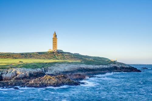 La Coruña Bild; Copyright bei Fotolia