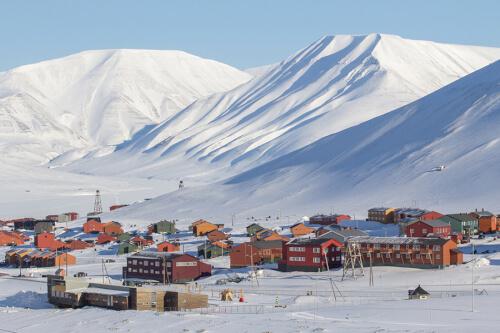 Longyearbyen / Spitzbergen Bild; Copyright bei Fotolia