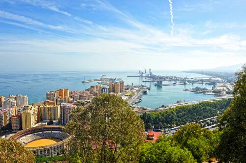 Málaga Bild; Copyright bei Fotolia