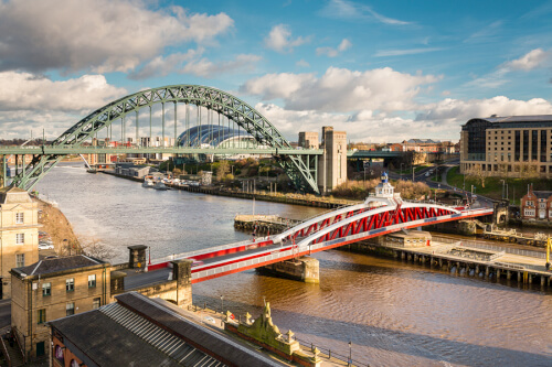 Newcastle Upon Tyne Bild; Copyright bei Fotolia