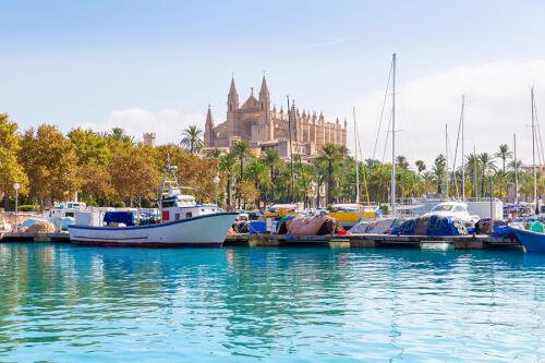 Palma de Mallorca Bild; Copyright bei Fotolia