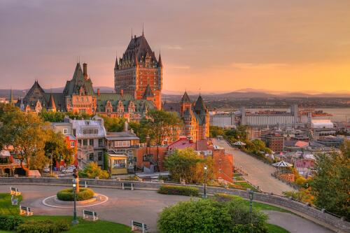 Quebec Bild; Copyright bei Fotolia
