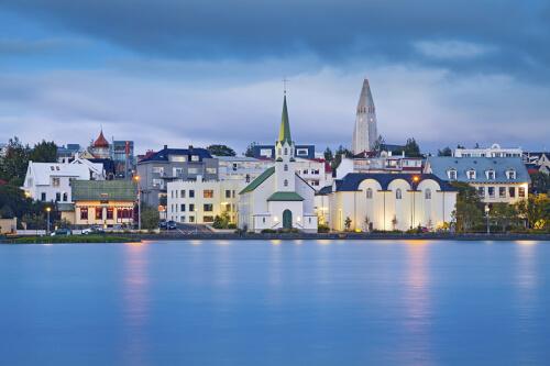 Reykjavík Bild; Copyright bei Fotolia