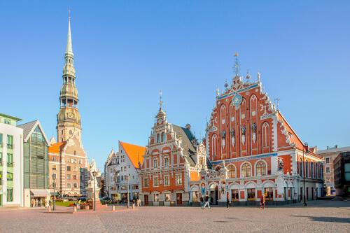 Riga Bild; Copyright bei Fotolia