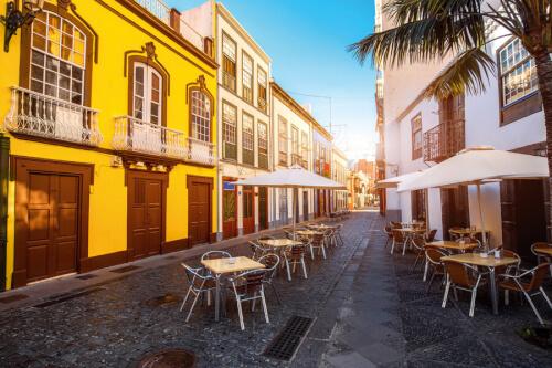 Santa Cruz / La Palma Bild; Copyright bei Fotolia