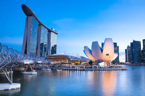 Singapur Bild; Copyright bei Fotolia