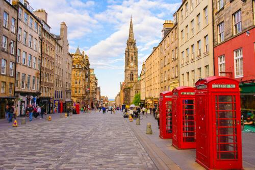 Edinburgh Bild; Copyright bei Fotolia