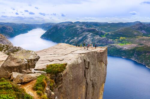 Stavanger / Lysefjord Bild; Copyright bei Fotolia