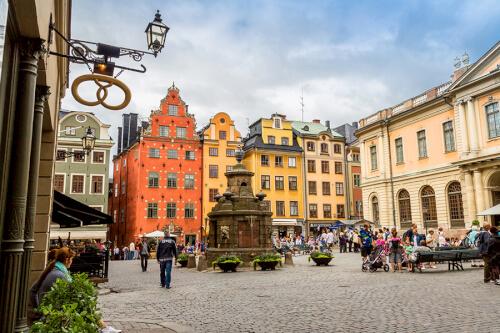 Stockholm Bild; Copyright bei Fotolia