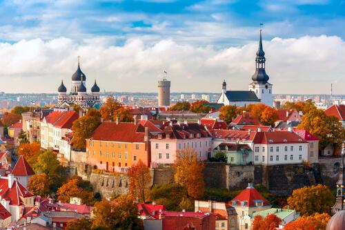 Tallinn Bild; Copyright bei Fotolia