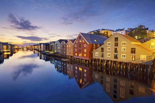 Trondheim Bild; Copyright bei Fotolia