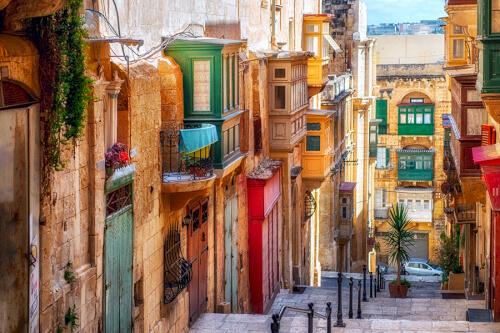 Valletta Bild; Copyright bei Fotolia
