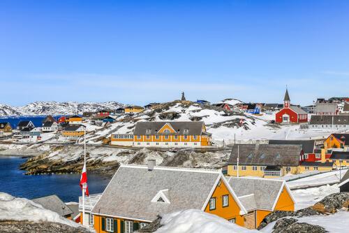 Nuuk Bild; Copyright bei Fotolia