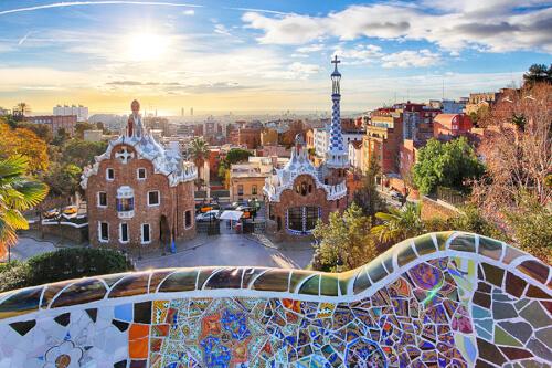 Barcelona Bild; Copyright bei Fotolia