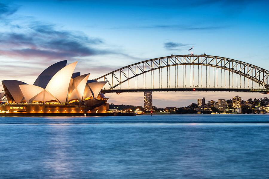 Haken auf Sydney