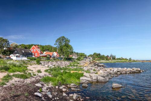 Roenne/Bornholm Bild; Copyright bei Fotolia