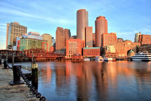 Boston Bild; Copyright bei Fotolia