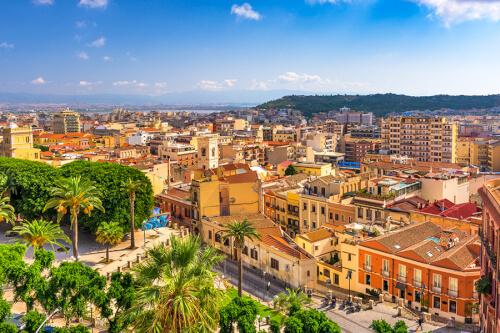 Cagliari Bild; Copyright bei Fotolia