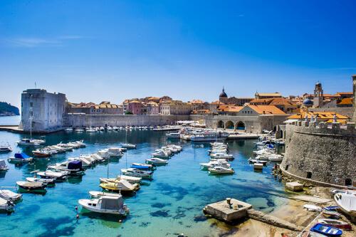 Dubrovnik Bild; Copyright bei Fotolia