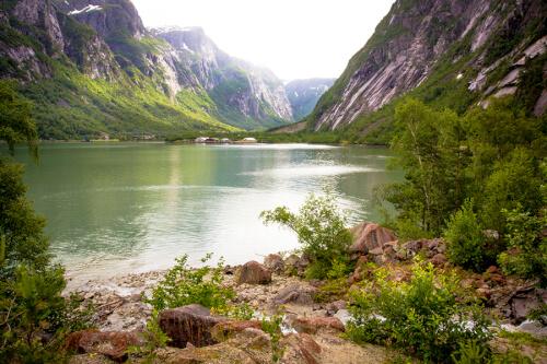 Eidfjord Bild; Copyright bei Fotolia