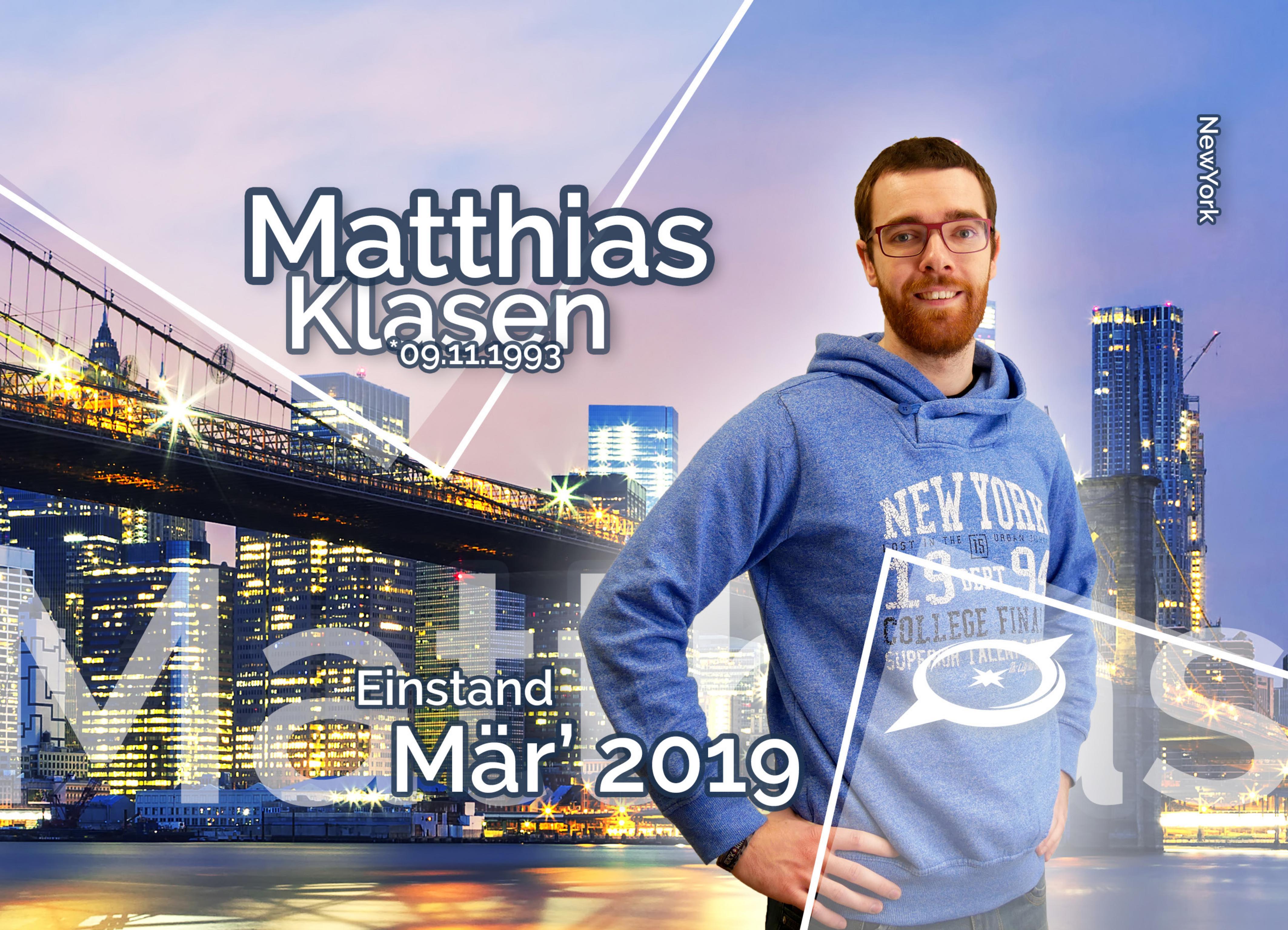 EURESAreisen Matthias