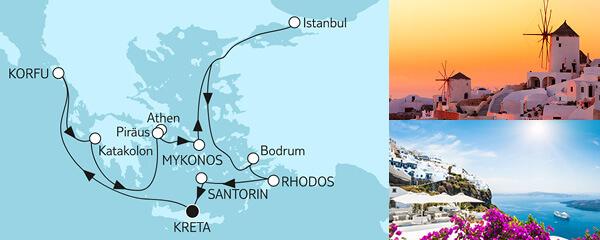Routenverlauf Schwarzes Meer am 26.08.2022