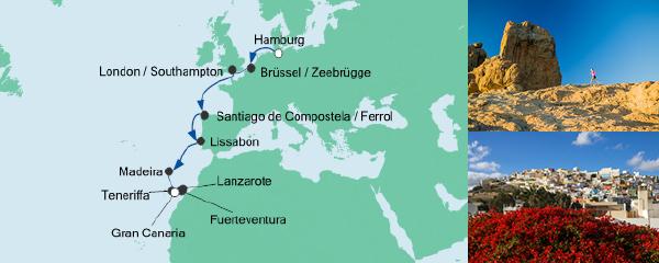 AIDA Seetours Angebot Von Hamburg nach Gran Canaria 4