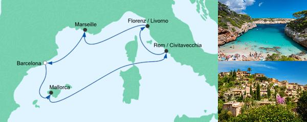 AIDA Angebot Perlen am Mittelmeer 4