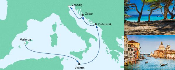 AIDA Seetours Angebot Von Mallorca nach Venedig 3