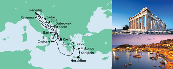 Von Korfu nach Kreta 2