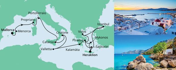 Von Mallorca nach Kreta 2