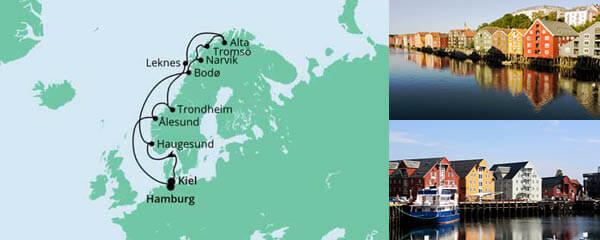 Herbstliche Nordlichter von Kiel nach Hamburg
