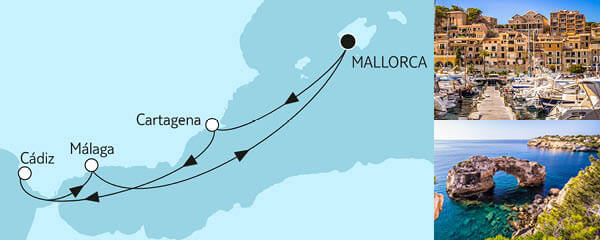 7 Tage Blaue Reise - Spanische Küste 1