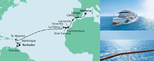 Von Mallorca nach Barbados