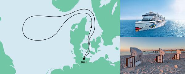 Routenverlauf Ahoi Tour ab Kiel am 16.10.2021