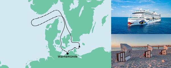 Routenverlauf Große Ahoi Tour ab Kiel am 10.07.2021