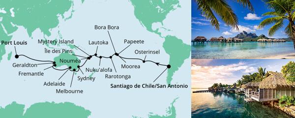 Von San Antonio Nach Mauritius 1