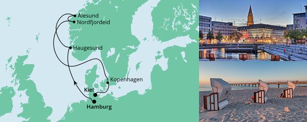 Norwegen von Hamburg nach Kiel 2
