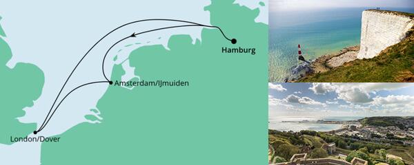 Kurzreise Niederlande & England